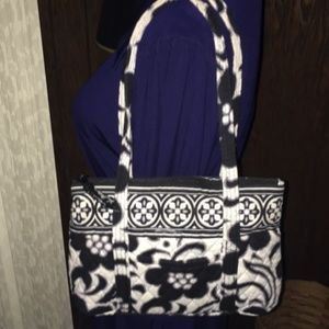 Vera Bradley Night & Day Shoulder/Satchel/Tote Bag